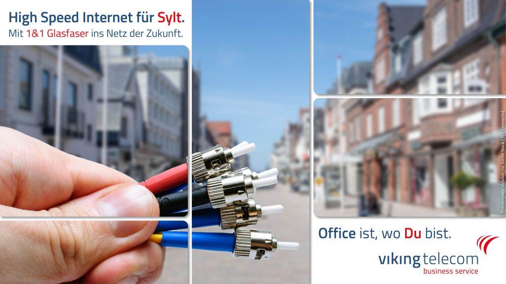 1&1 Glasfaser Internet auf Sylt